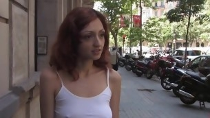 Sexy pretty gal gets loathe cautious fucked with the addition of thraldom sex.