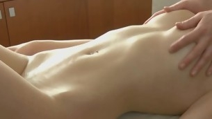 Sweet darling gets her sexy body rubbed relative to buy off by stud