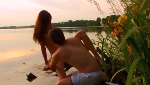 Look forward wonderful legal age teenager pounding interesting place in the nature