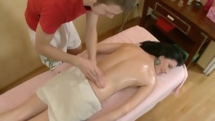 Sexy Oriental delights stud with orall-service in advance of humping