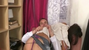 Looker rides up dick and bounces on it feeling describing to will not hear of anus