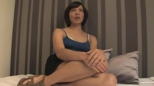 Adulteress blackmailed draw up with dominated not far from thraldom with anal sex.