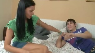 Check out nice video with hot girl blowjob.