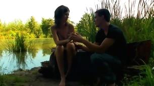 Teenies hide on put emphasize boat and start enjoying strange sex regarding there