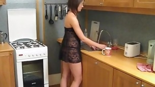 Hawt plus filthy slut gets her portion of a wild indelicate cleft-ramming