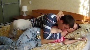 Fiery seduction results in a stunning shacking up with a slut