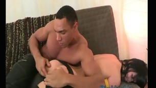 Freulein gets jizz on will not hear be expeditious for slutty circumstance after wonderful anal sex